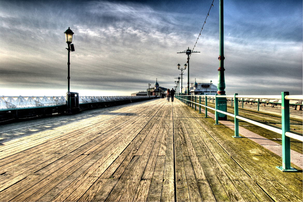 North Pier, Blackmoor England